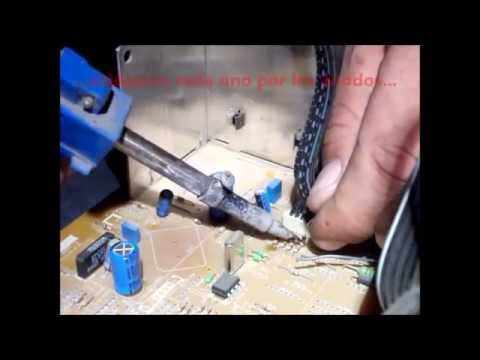 Reparacion TV Philips - Se Apaga - Anular Circuito IK ( Philips TV Repair - Cancel IK Circuit )