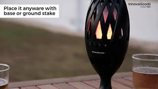 InnovaGoods Gadget Tech LED Flame Torch