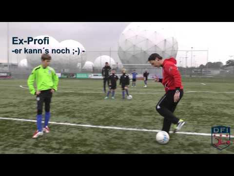 Fußball Technik Training Am Deutschen Fußball Internat