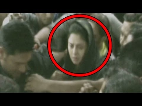 Nagma Molested During Election Campaigns video