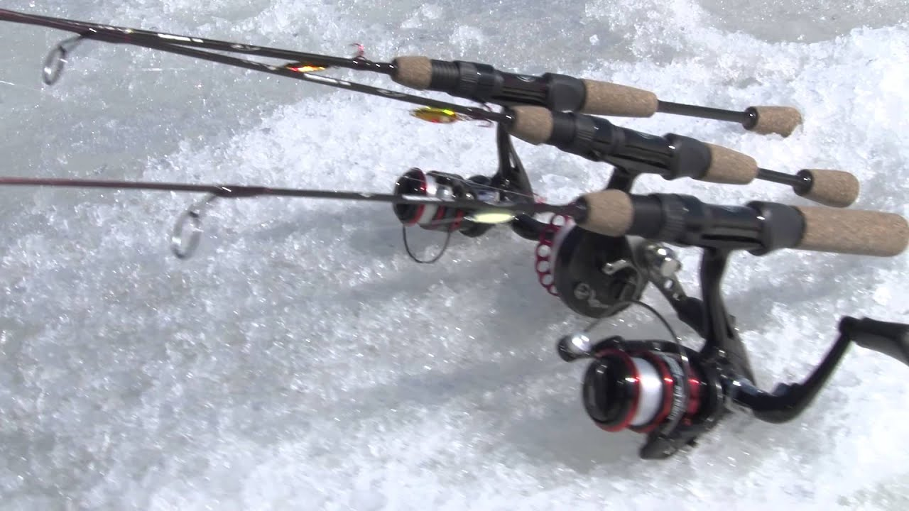 Tony Roach Power Ice Fishing Rods And Reels By Wright