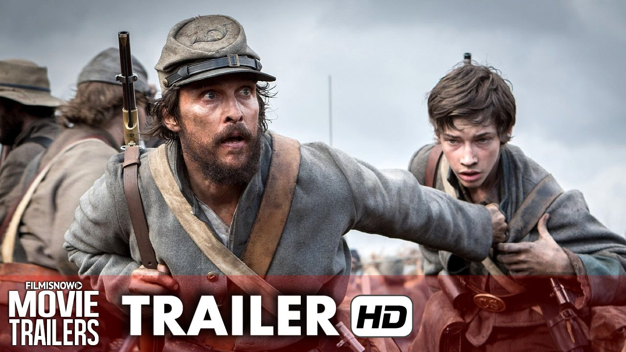 FREE STATE OF JONES Ft. Matthew McConaughey - Official Trailer [HD]