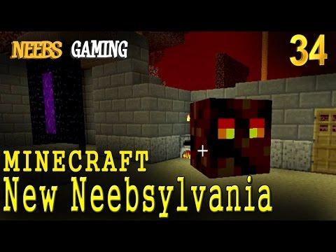 MINECRAFT: Nether Base - New Neebsylvania 34