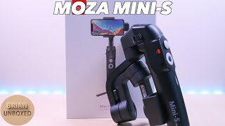 Moza Mini S - Foldable Smartphone Gimbal (Review & Demo)
