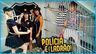 5 MENINOS VS 5 MENINAS: POLICIA E LADRÃO!! [ REZENDE EVIL ]