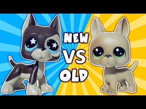 NEW LPS GREAT DANE?!  Littlest Pet Shop Unboxing Review Series 1   Alice LPS