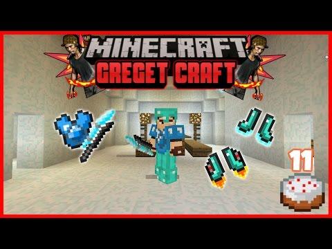 Mendapatkan Sepatu Super & Senjata Legendaris !!! #11 | Minecraft PE Modded Survival | Greget Craft