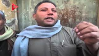 أقارب أحد الشهداء في المنيا  نطالب الحكومة الاهتمام بأسر الضحايا