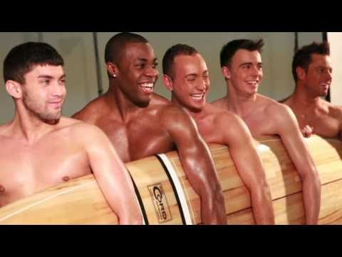Buzz magazine Naked Photoshoot with The Hunks
