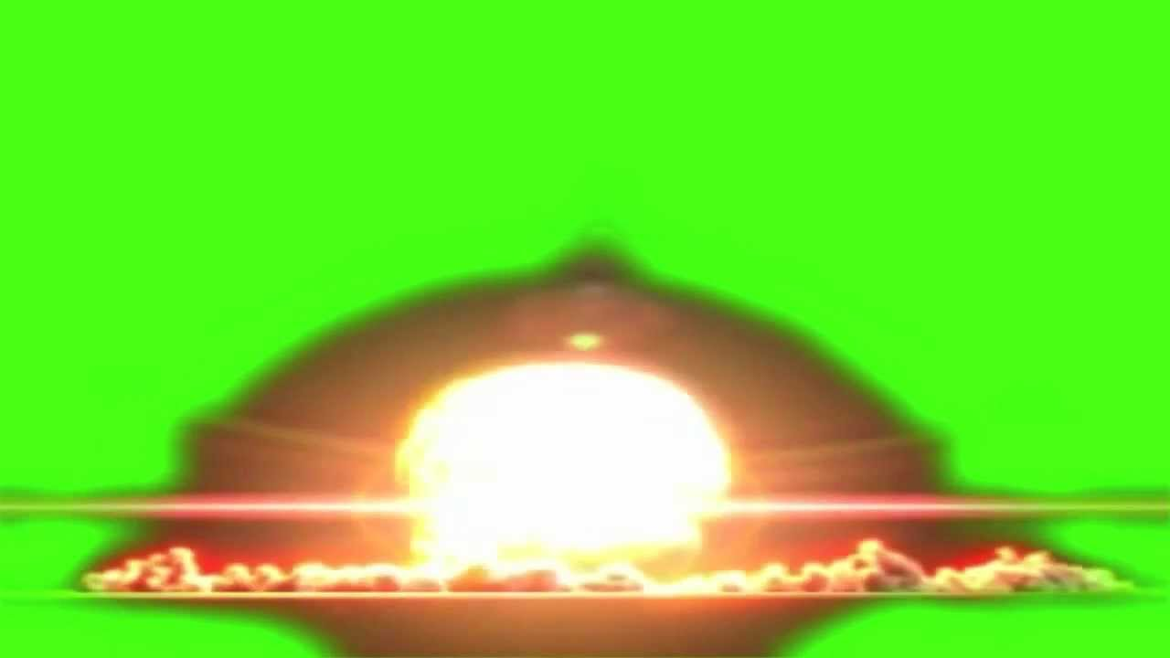 ... SCREEN NUCLEAR TEST AND MUSHROOM CLOUD TEST 4 AFTER EFFECTS - YouTube