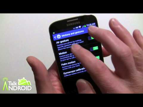 How to set up and use Air View and Air Gestures on the Samsung Galaxy S 4