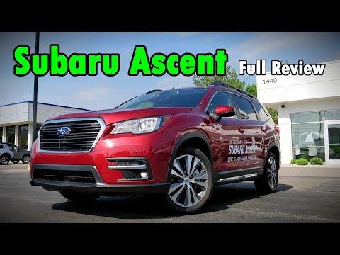 2019 Subaru Ascent: FULL REVIEW   Touring, Limited & Premium