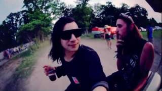 Skrillex Video - Skrillex at Camp Bisco 2011