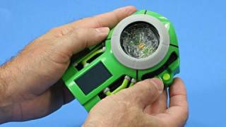 Ultimatrix Ben 10 Ultimate Alien Disc Alien Ultimatrix Toy Review Unboxing