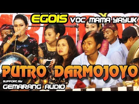 Lagu Jaranan Hits EGOIS Cover Voc MAMA YAYUK | PUTRO DARMOJOYO Live Maron Kediri 2018