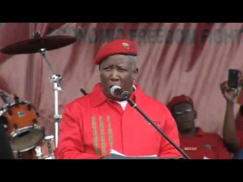 Julius Malema addresses the nation at the EFF's manifesto launch (Part 1)