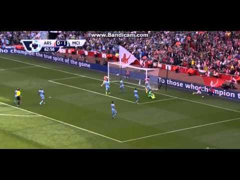 Jack Wilshere Goal (Arsenal-Manchester City)