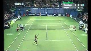 Martina Hingis vs Caroline Wozniacki 2007 Copenhagen Highlights