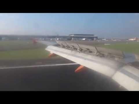 easyJet A319 Milan(MXP) - Brussels(BRU) Full Flight