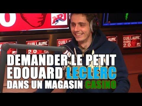 Demander le petit Edouard Leclerc dans un magasin Casino !!