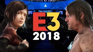 E3 2018 - Everything I Expect To See   The Last of Us 2 & Death Stranding Gameplay, Skate 4 & More!