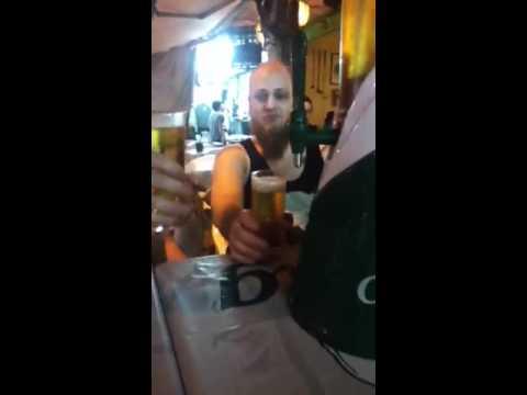 beer tower on kao San road
