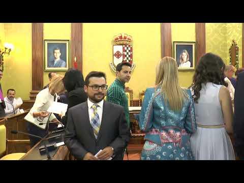 Toma de posesión del nuevo Gobierno Municipal de Valdepeñas