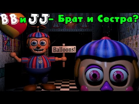 BB и JJ - Брат и Сестра? | История Balloon Boy | Five Nights At Freddy's