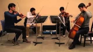【弦楽四重奏/MSQ】FF4 バトルメドレー / String Quartet : Final Fantasy 4 - Battle Medley