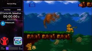 The Lion King (Any% Easy) w/ Carter44_Speedrun - P4P Spring 2019