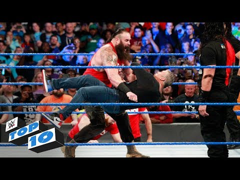 Top 10 SmackDown LIVE moments: WWE Top 10, November 14, 2017