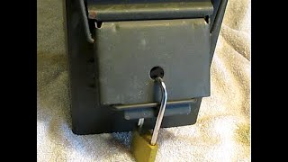 How to lock an ammo can...the easy way