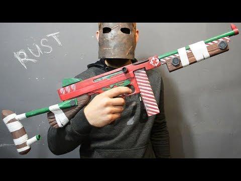 Как сделать Томпсон из игры Rust своими руками How to make Thompson from Rust
