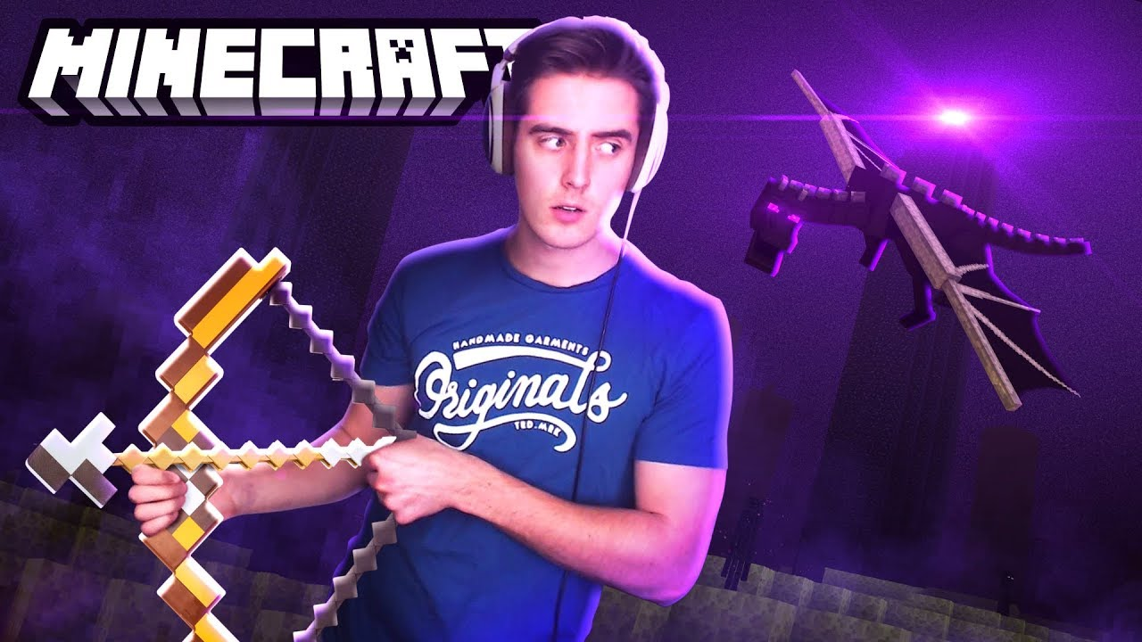 Denis Sucks At Minecraft - Episode 31 (FIGHTING THE ENDER DRAGON!!)