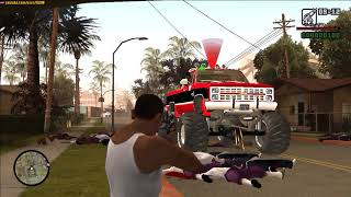 GTA San Andreas - Grove vs Ballas
