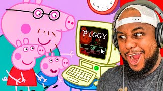 Peppa Pig plays PIGGY! (Part 1 & 2)