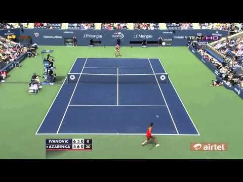 Victoria Azarenka Vs Ana Ivanovic Highlights Us Open 2013