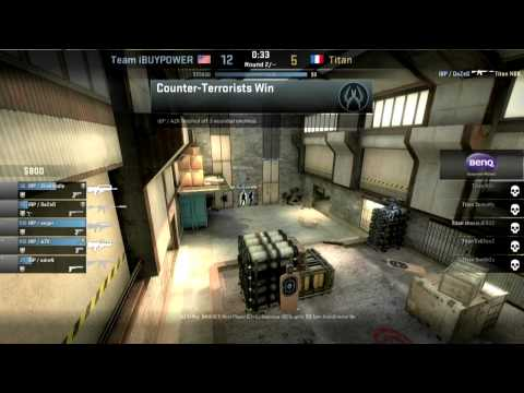 $90,000 CS:GO Grand Finals 2014: iBUYPOWER vs Titan (de_cache) @ ESEA LAN Season 15