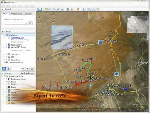 Google Earth export to GPS Device
