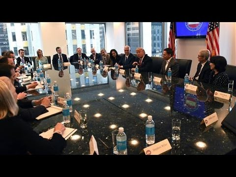 Trump Introductory Remarks With Tech Executives