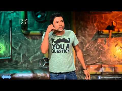 Adrian parada Los comediantes de la noche 1 de febrero parte 4