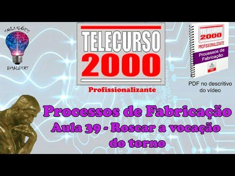 Telecurso 2000   Processos de Fabricacao   39 Roscar  a vocacao do torno  xvid