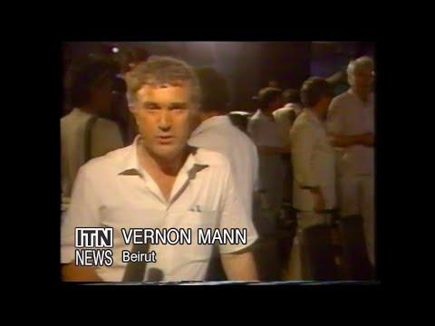 Vernon Mann ITN News Beirut TWA Hijacking Flight 487 1985 Testrake Press Conference