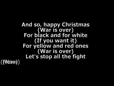John Lennon - Happy Xmas War Is Over Chords and Lyrics