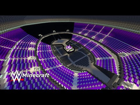 WWE: Minecraft [Stadium To Build Your Own WWE Stage] + (Download Link)