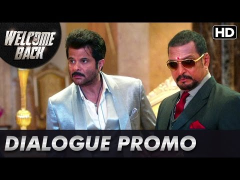 Naseeruddin Shah Takes On Anil And Nana! (Dialogue Promo) | Welcome Back