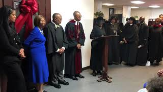 The Mother Zion-Dr. Dabney N. Montgomery Heritage Center Dedication