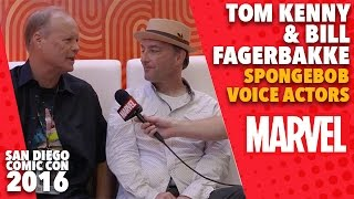 Tom Kenny and Bill Fagerbake on Marvel LIVE at San Diego Comic-Con 2016