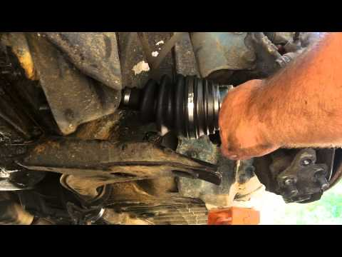 Front Wheel Drive Axle Replacement
