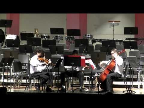 Xaverian High School's String Trio -  God Save The King  by Beethoven